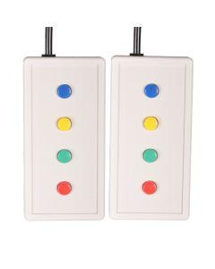 8 Button Bimanual Straight Lines